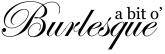 a bit o' Burlesque logo